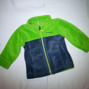 Columbia infant fleece jacket
